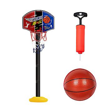 Supporto per cerchio da basket regolabile in altezza portatile per bambini, obiettivi di basket indoor / outdoor