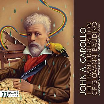 Carollo / Moravian Philharmonic Orch / Vronsky - Transfiguration of Giovanni Baudino [CD] USA import