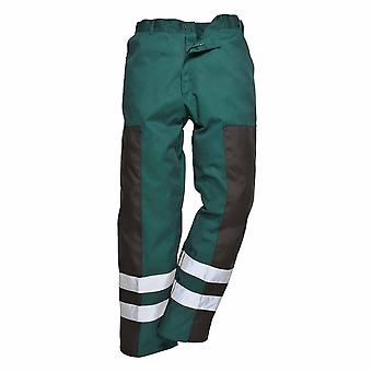 Portwest - Durable Ballistic Workwear Safety Trousers With Reflective Tape