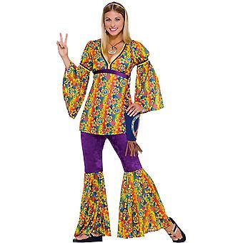 Purple Haze Hippie Hippy 60s 70s Groovy Women Costume
