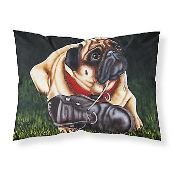 Cluster Buster the Pug Fabric Standard Pillowcase