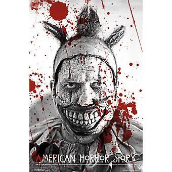 قصة الرعب الأمريكية-طباعة الملصقات ملصق ملتوي
