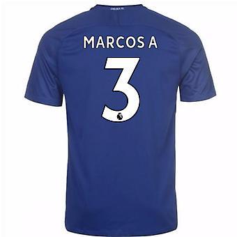 Camisa Chelsea Home de 2017-18 (Marcos 3)