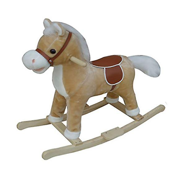 Traditional Rocking Horse Fawn