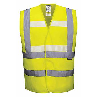 Portwest - トリプル技術こんにちは Vi 安全作業服暗闇で光るベスト