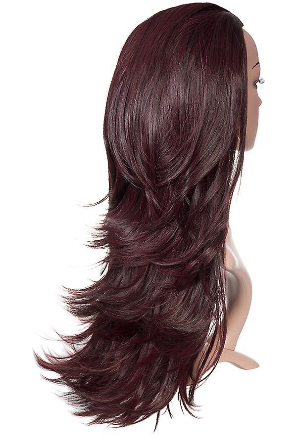 Angelina 2 Way Straight/Flicky Extreme Volume 3/4 Wig