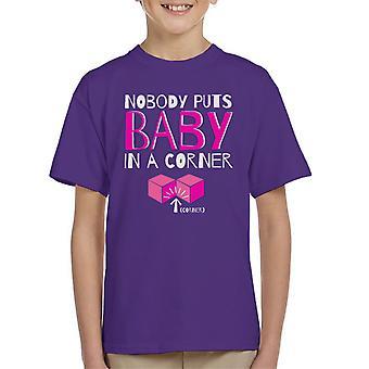 Nobody Puts Baby In The Corner Dirty Dancing Kid's T-Shirt