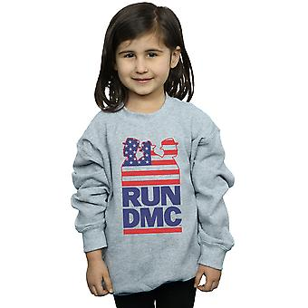 Run DMC Girls USA Silhouette Sweatshirt
