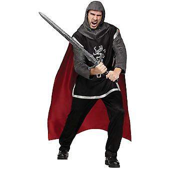 Medieval Knight Medieval Dragon Slayer Deluxe Men Costume One Size