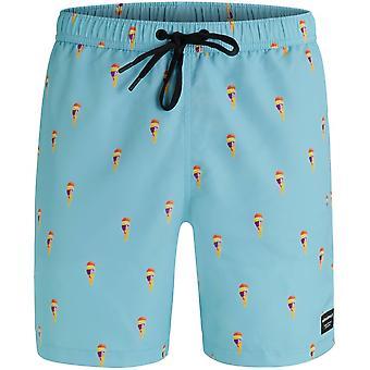 Bjorn Borg Ice Cream Print Swim Shorts, Soft Blue