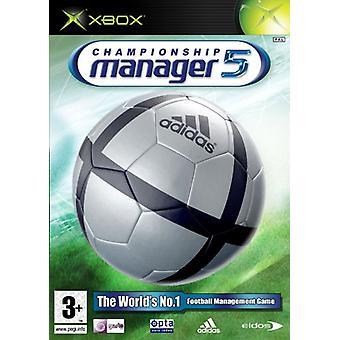 Championship Manager 5 (Xbox) - Usine scellée