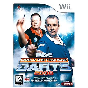 PDC World Championship Darts 2008 (Wii) - Factory Sealed