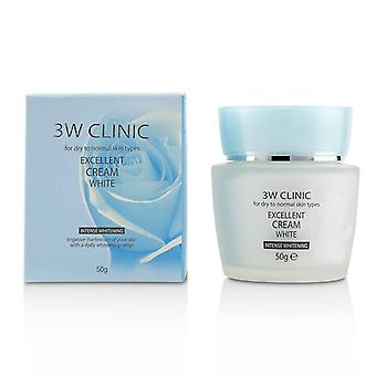 Excellent White Cream (intensive Whitening) - For Dry To Normal Skin Types - 50g/1.7oz