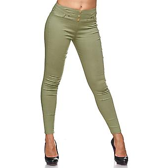 Ladies Treggings Rivets Buttons Effect stitching Jeans Pants Jeggings Hipsters