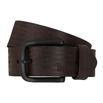 Timberland bälten mäns bälten läder bälte jeans brun 6758
