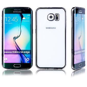 Premium TPU Silikoncase black for Samsung Galaxy S6 edge plus G928 G928F