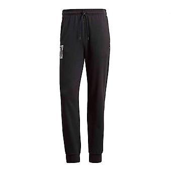 2018-2019 Juventus Adidas Sweat Pants (Black)