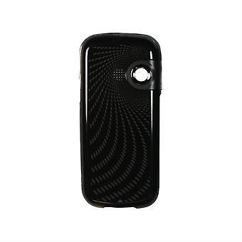 OEM LG コスモス VN250 標準バッテリー カバー/カバー (ブラック)
