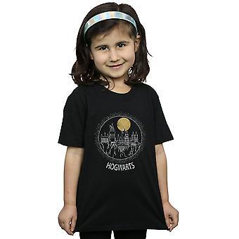 Harry Potter tytöt Tylypahkan Circle t-paita