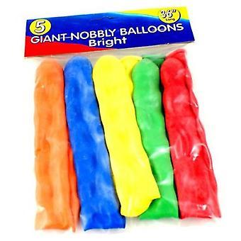 5 balões gigantes Nobbly 36