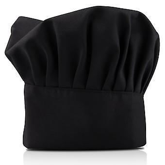 TRIXES 专业厨房厨师帽子黑色
