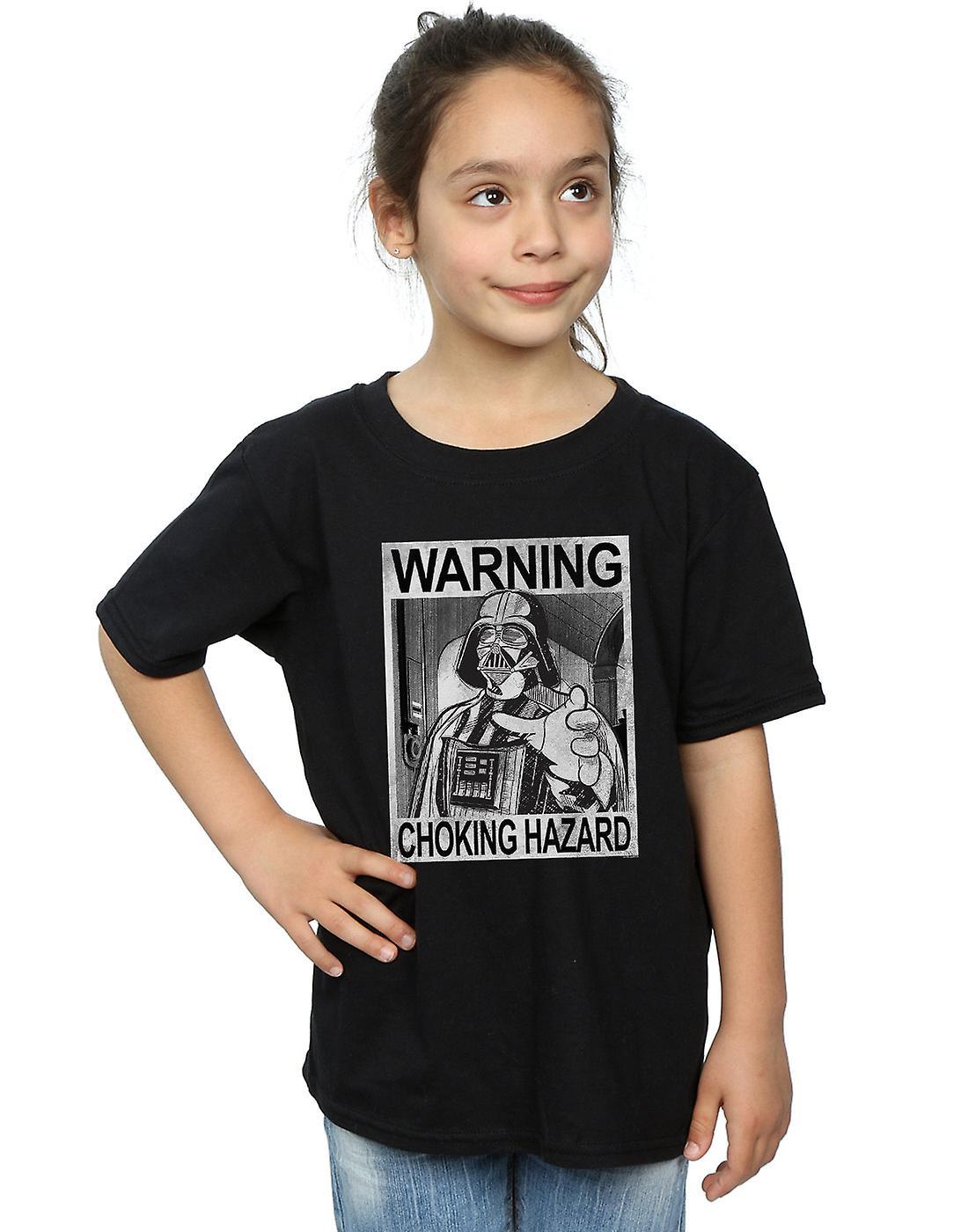 Star Wars Girls Vader Choking Hazard T-Shirt