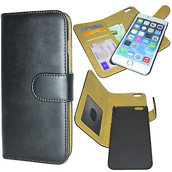 iPhone 6S PLUS Luxury wallet case with detachable Magnet shell