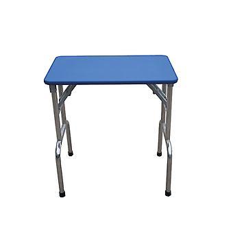 Groom Professional Matterhorn Folding Grooming Table Blue