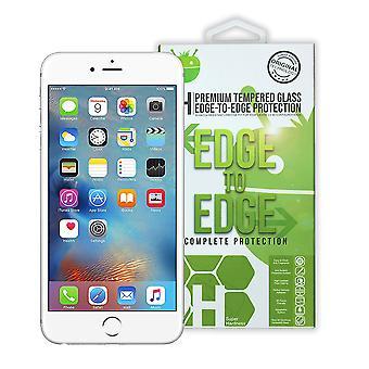 Weiße Premium-Tempered Glas für iPhone 6 + / 6 s +