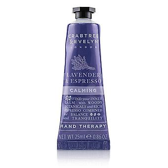 Crabtree & Evelyn Lavender & Espresso Calming Hand Therapy - 25ml/0.86oz