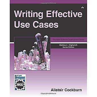 Escribir casos de uso efectivo (serie cristal para desarrollo de Software)