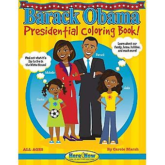 Barack Obama presidentiële Coloring boek! (Hier & nu)