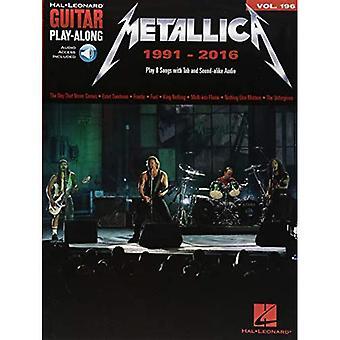 Metallica: 1991-2016: gitar spill langs volum 196 [med Access Code]