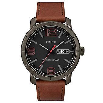 Timex Analog Quarz Herrenuhr mit Leder TW2R64000