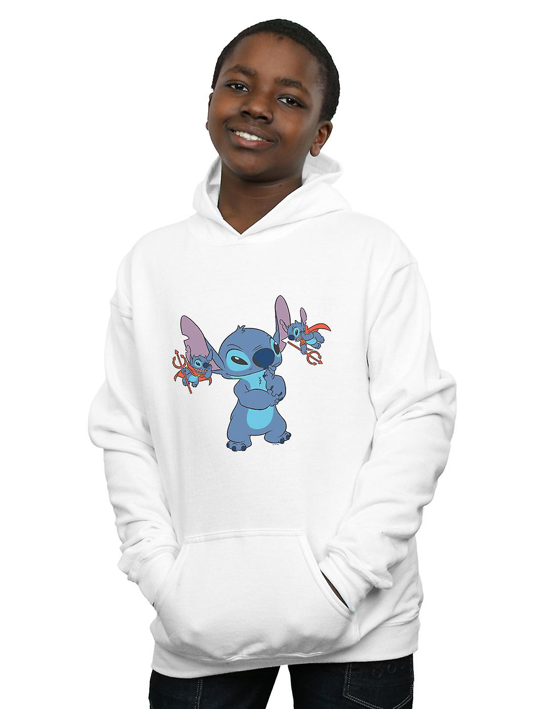 Disney Boys Lilo And Stitch Little Devils Hoodie
