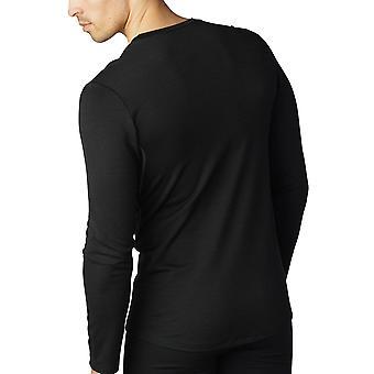 Mey 42404-123 Men's Mey Performance Black Long Sleeve Top