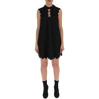 Mulberry Mywo505501yo440500001 Women's Black Cotton Dress