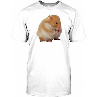 Nuttede kæledyr russiske Hamster spiser børn T Shirt