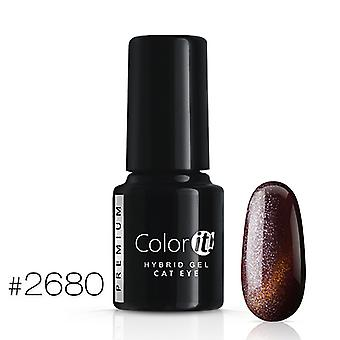 Gellack-Color IT-Premium-Cat Eye-* 2680 UV Gel/LED