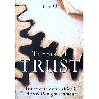 Termen van vertrouwen: argumenten over ethiek in Australische regeringen