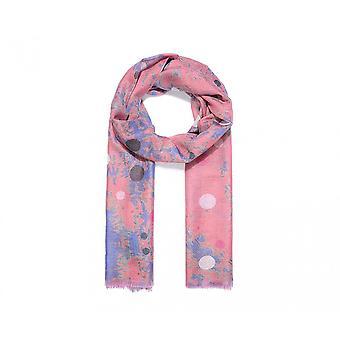 Intrigue Womens/Ladies Blotched Dot Print Scarf