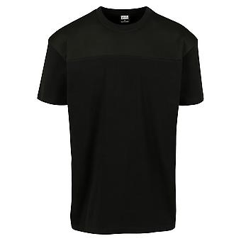 Urban Classics Men's T-Shirt Mesh Panel