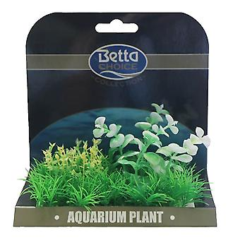Betta Choice Medium Plant Mat - Green & White