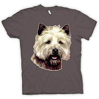 Kids t-skjorte - Cairn Terrier Pet - hunden