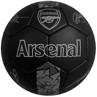 Arsenal Fußball Signatur PH