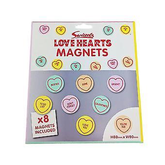 Swizzels Love Hearts Magnets