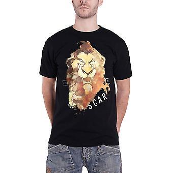 Lion King T shirt litteken portret logo nieuwe officiële Disney mens zwart