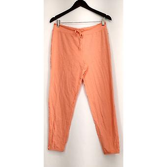 xhilaration Lounge Pantaloni Leggero Maglia Pull On Orange Donne