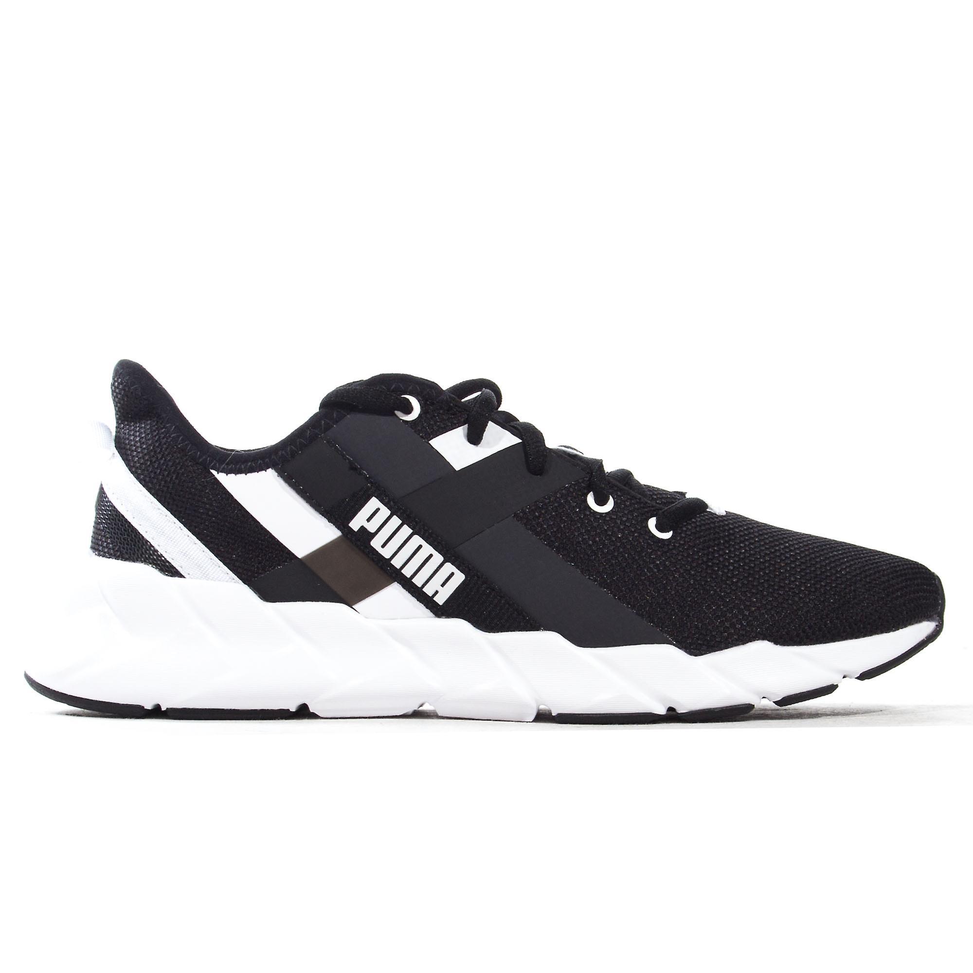 Puma Weave XT Womens Exercise Fitness Training Trainer Shoe Black/White