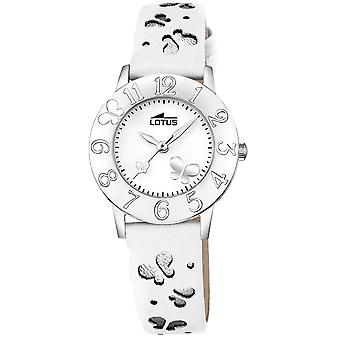 Lotus junior Quartz Analog Child Watch avec Bracelet Cowhide 18269/1